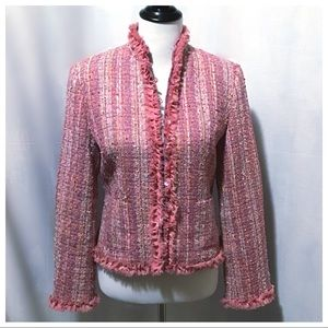 Excellent Cond. ~ Chadwick's Boucle' Tweed Blazer